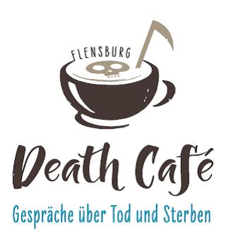 Logo Death Café Flensburg macht Spass