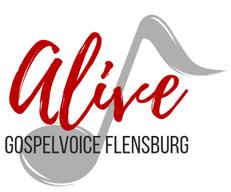 Logo Alive Gospelchor Flensburg macht Spass