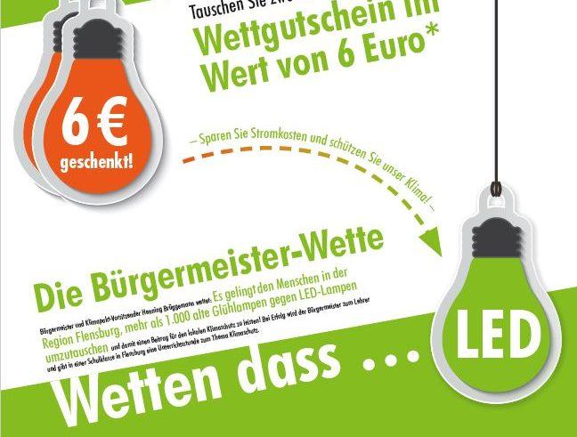 Klimapakt Flensburg macht Spass Bürgermeisterwette